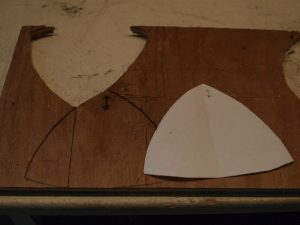 Transfer the shape to a plywood