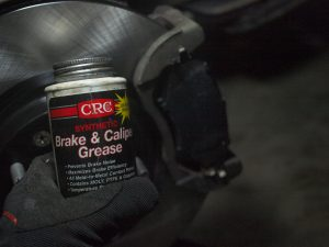 Apply brake grease on the back of the pads.  (I use the one with carbon powder)
