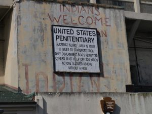 Alcatraz was once occupied by Native Americans, after it was closed