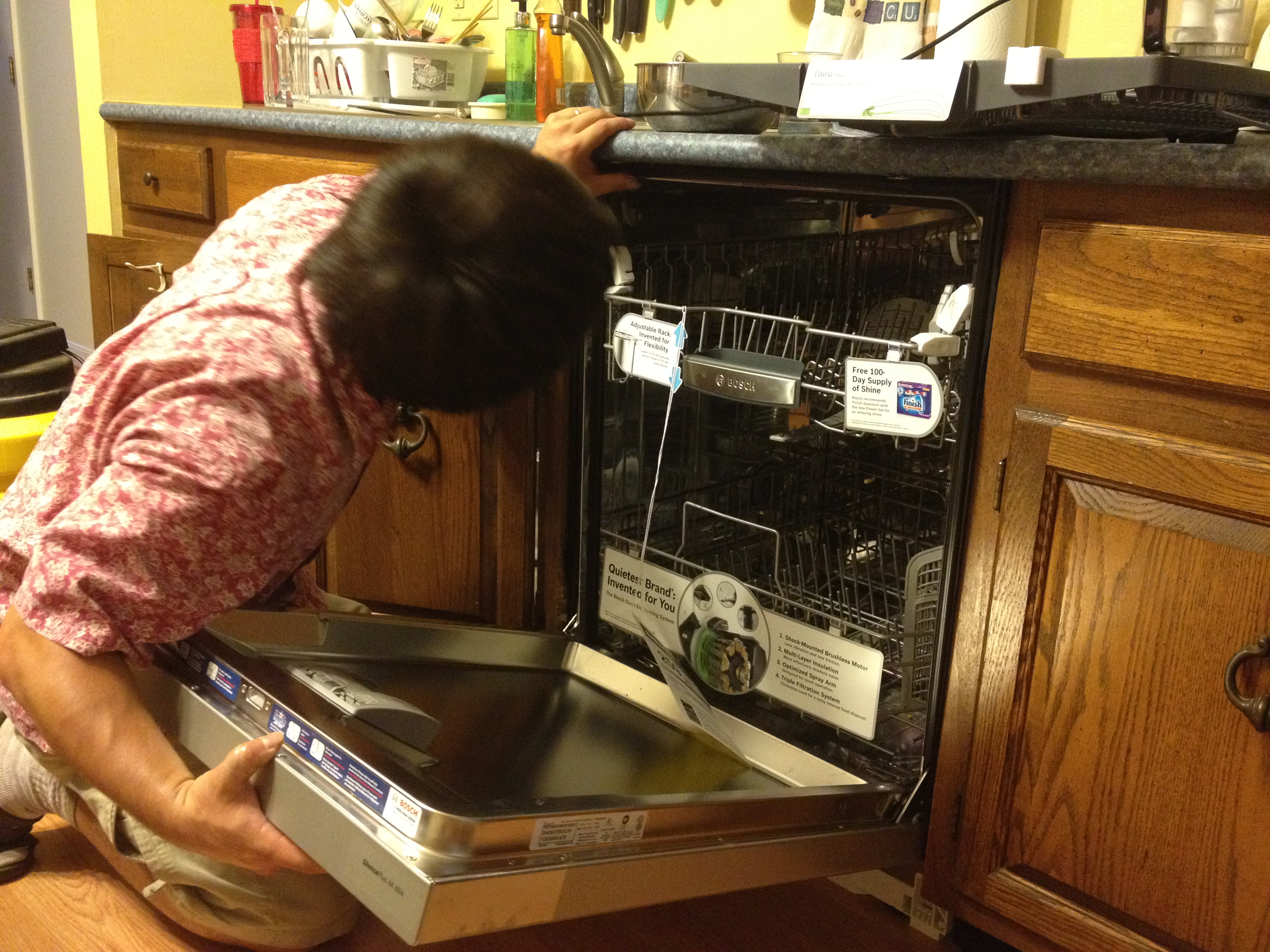 Dishwasher is in! – Tacti's Garage