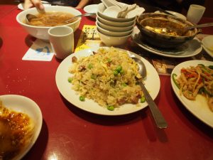 This fried rice is actually good, my wife said...
