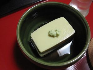 Kani-Miso-Tofu: Crab Tofu.  My wife's favorite!