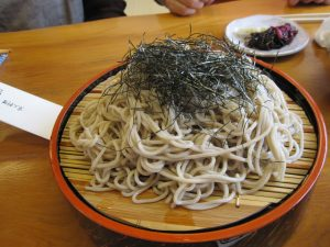 The course menu does not include this, however, we saw other customers were eating Soba, and just couldn't help by ordering one!