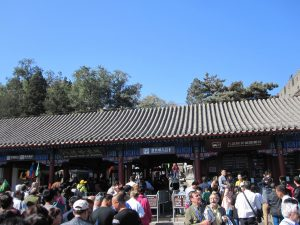 like any other tourism place in china i've been to, there are a lot of people!