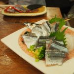 The fall is in season for Sanma, a type of salt water fish.